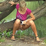 Girls want peeing everywhere: in forest, parks, at home and public places